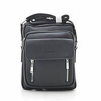 Мужская сумка черная через плечо 186398, фото 1