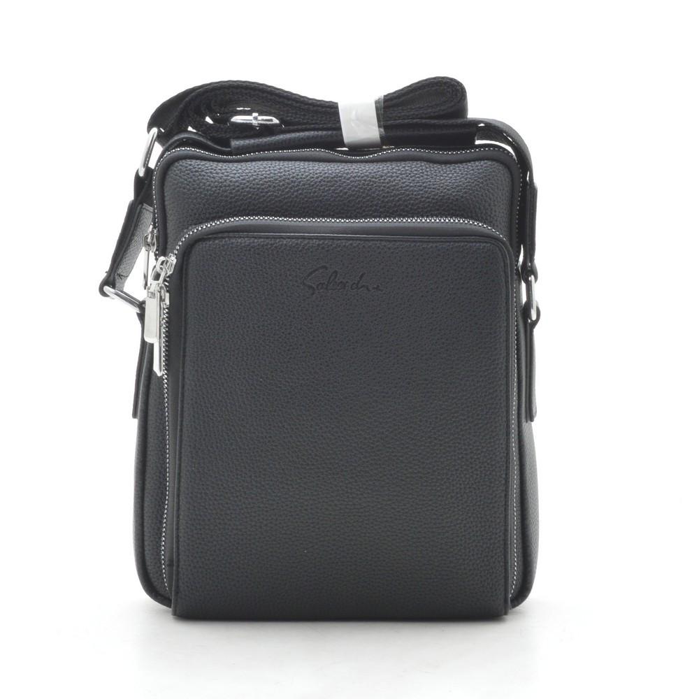 Мужская сумка черная через плечо 186399