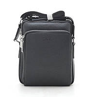 Мужская сумка черная через плечо 186399, фото 1