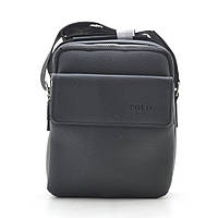 Мужская сумка Polo черная через плечо 186402, фото 1