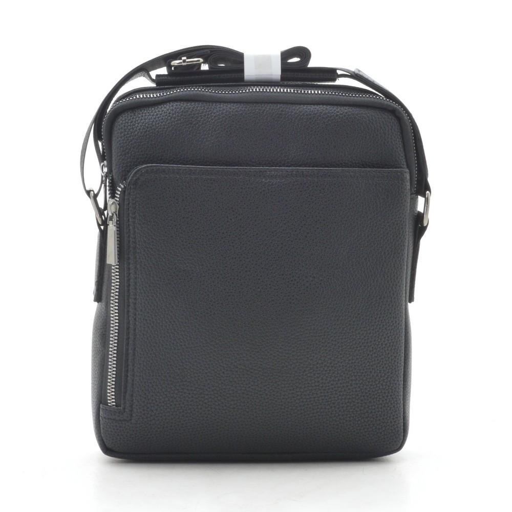 Мужская сумка черная через плечо 186403