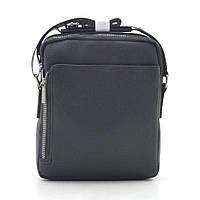 Мужская сумка черная через плечо 186403, фото 1