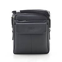 Мужская сумка Polo черная через плечо 186405, фото 1