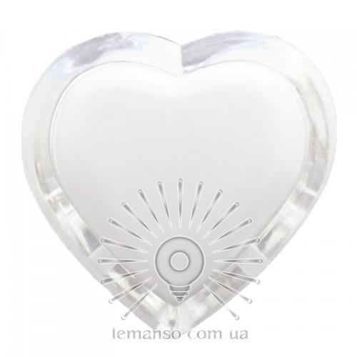 Ночник Lemanso Сердце мультик 3 LED / NL4