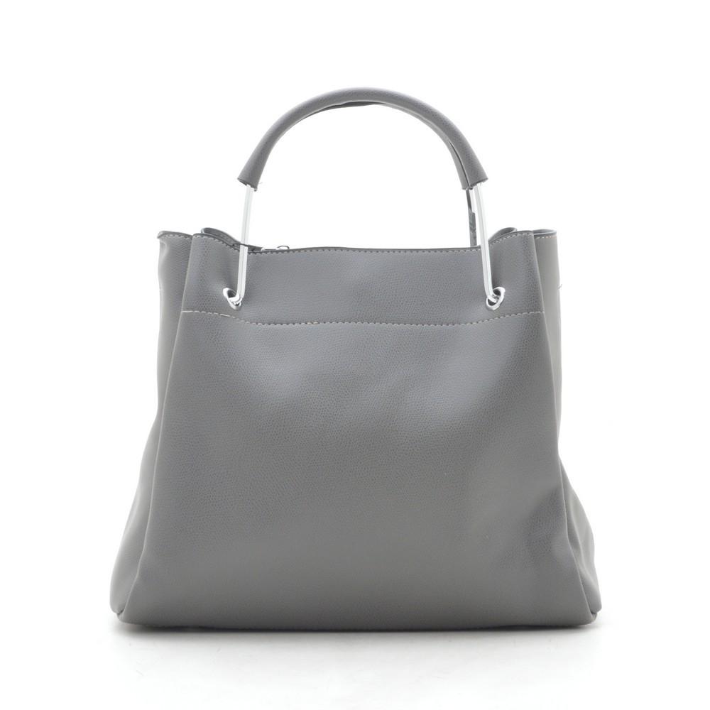 Женская сумка серая 190331