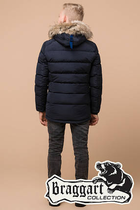 Зимняя теплая куртка на мальчика Braggart Kids (р. 34, 36, 38) арт. 68255T, фото 2