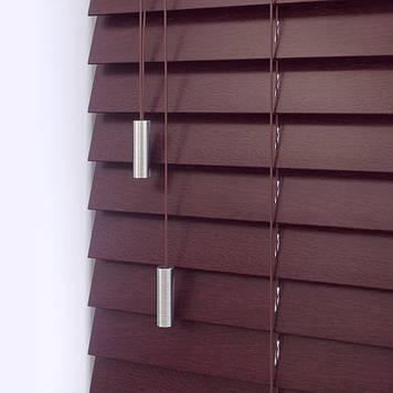 Деревянные жалюзи classic-wood-red-mahogany