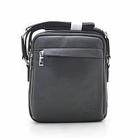 Мужская сумка через плечо черная 186392, фото 1