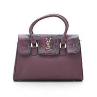 Женская сумка фиолетовая + кошелек в подарок 186724