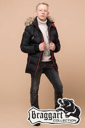 Детская зимняя куртка на мальчика Braggart Kids (р. 34, 36, 38) арт. 68255A, фото 2