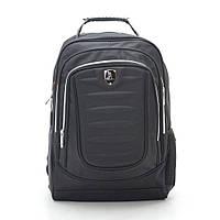 Рюкзак городской черный с отделением для ноутбука и USB 188788, фото 1