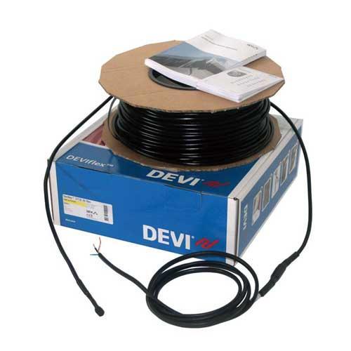 Нагревательный двухжильный экранированный кабель с высокотемпературной тефлоновой изоляцией DEVIsnow™ 30T