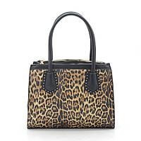 Женская сумка леопардовая кожзам 187204
