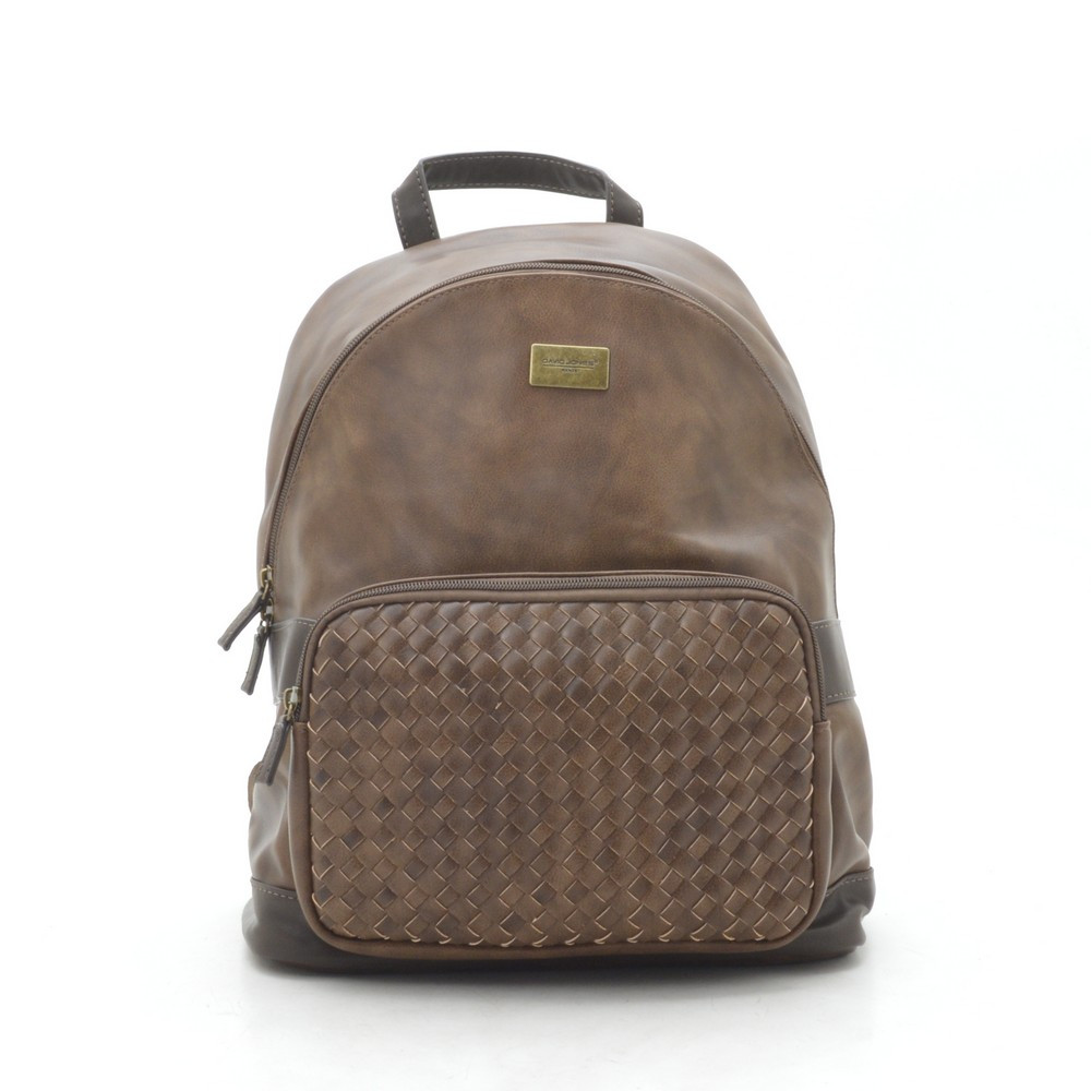 Рюкзак жіночий David Jones темно коричневий 186122