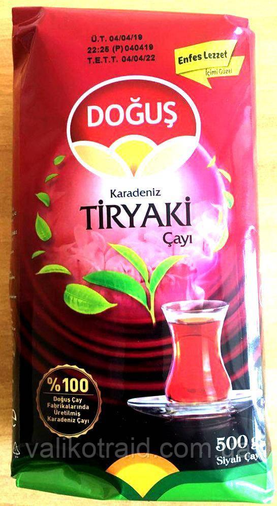 Чай турецкий чёрный мелколистовой DOGUS Tiryaki Cayi 500г