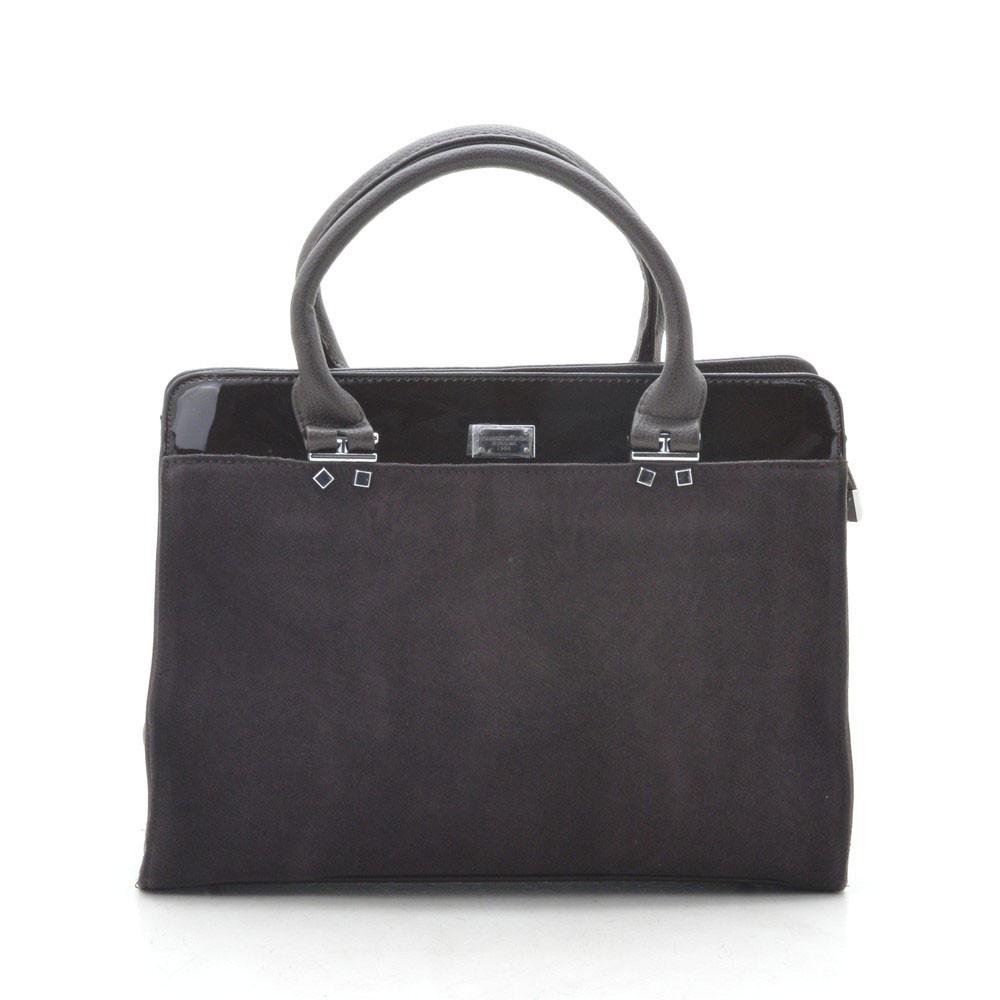 Женская сумка темно коричневая 188938