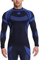 Термокофта мужская спортивная Sesto Senso Active (original) зональная бесшовная, лонгслив, термобелье XXL