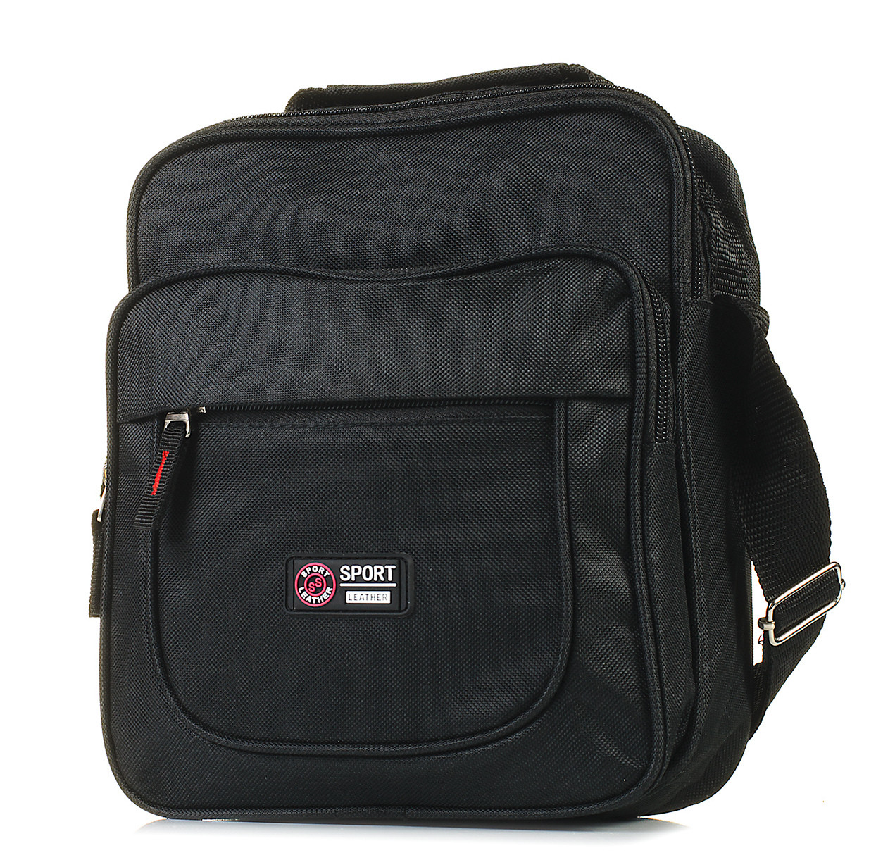 Мужская сумка через плечо BR-S черная 1043340633