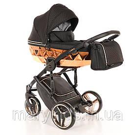 Дитяча універсальна коляска 2 в 1 Junama Mirror Blysk 01