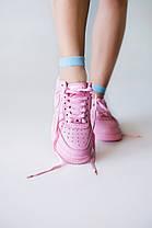 "Кроссовки Nike Air Force Lather ""Розовые"", фото 2"