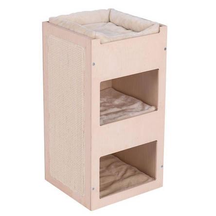 Игровой комплекс для котов Eco Premium Cube с домиком для кошки и когтеточкой, фото 2