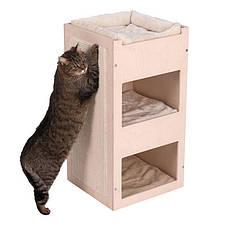 Игровой комплекс для котов Eco Premium Cube с домиком для кошки и когтеточкой, фото 3