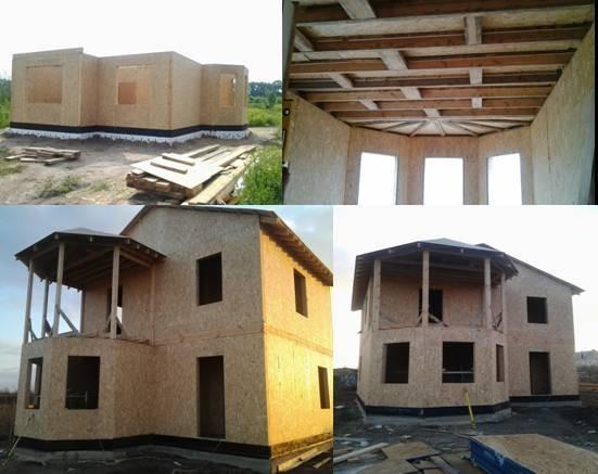Строительство домов по канадской технологии, дома, дачи, таунхаусы, бани