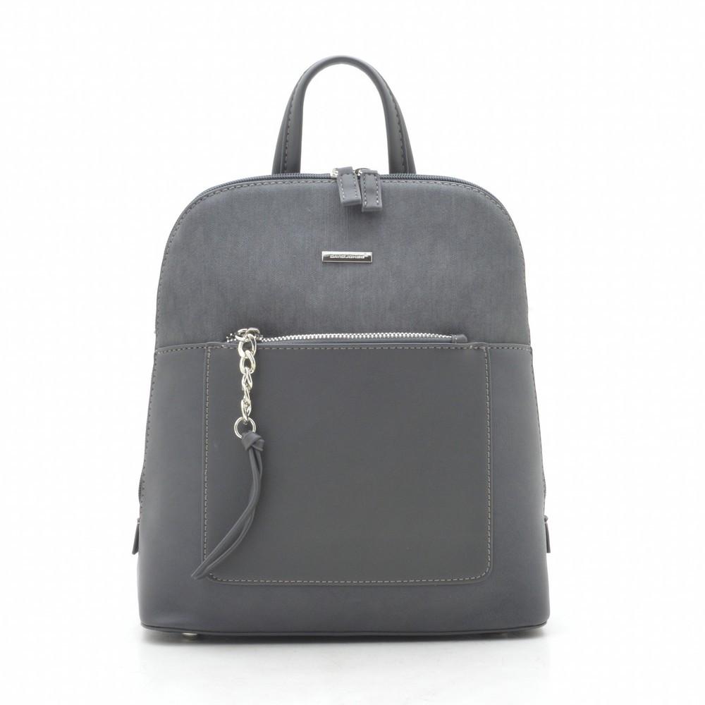 Рюкзак женский David Jones темно серый 185979