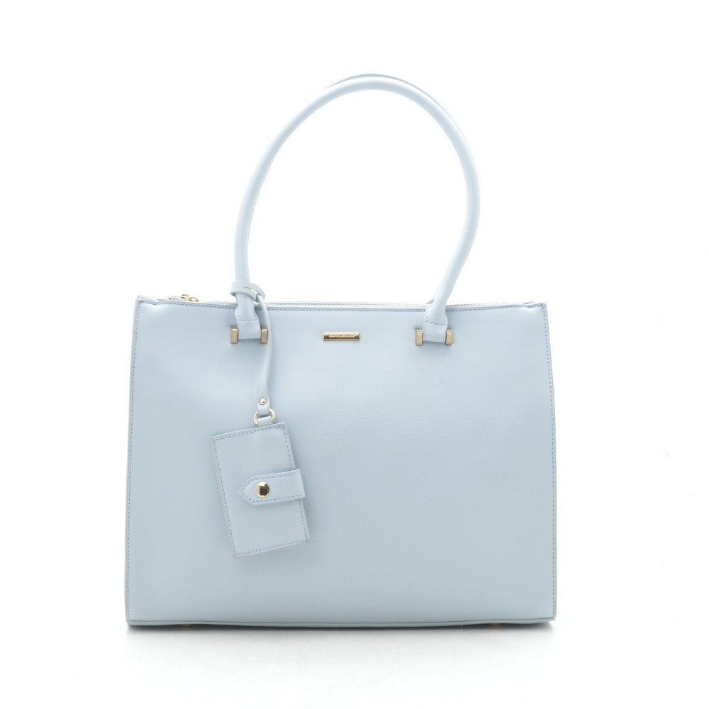 Женская сумка David Jones светло голубая 189446