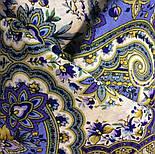 Изюминка 1811-1, павлопосадский платок шерстяной  с шелковой бахромой, фото 6