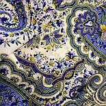 Изюминка 1811-1, павлопосадский платок шерстяной  с шелковой бахромой, фото 7