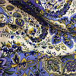 Изюминка 1811-1, павлопосадский платок шерстяной  с шелковой бахромой, фото 8