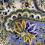 Изюминка 1811-1, павлопосадский платок шерстяной  с шелковой бахромой, фото 4