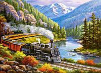 Пазл Сastorland на 300 элементов Поезд в горах