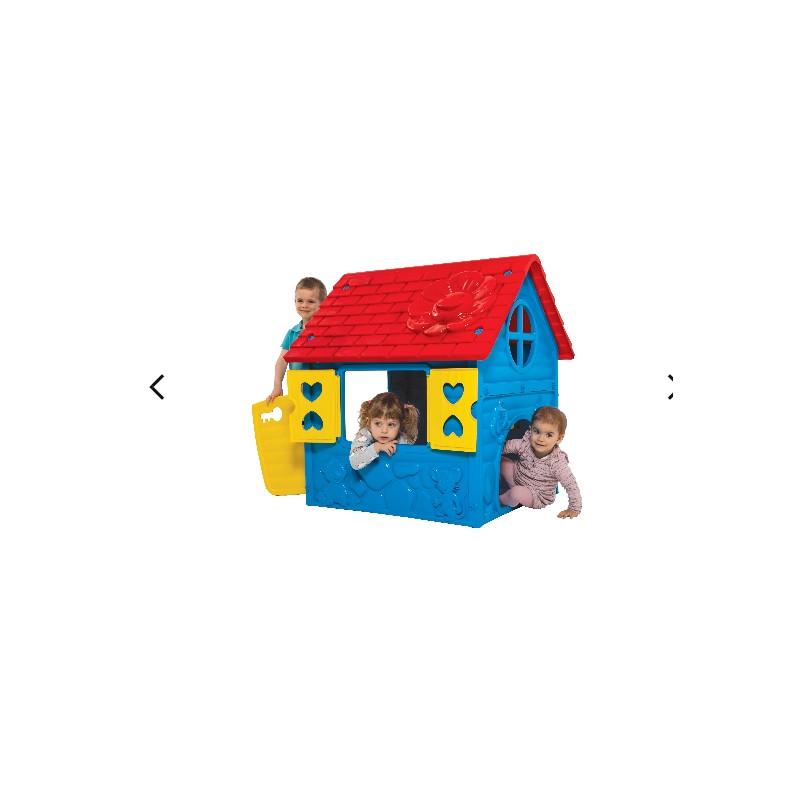 Детский игровой домик (синий)
