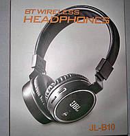 Беспроводные наушники HORTON Bluetooth JL- B10 micro SD Чёрные