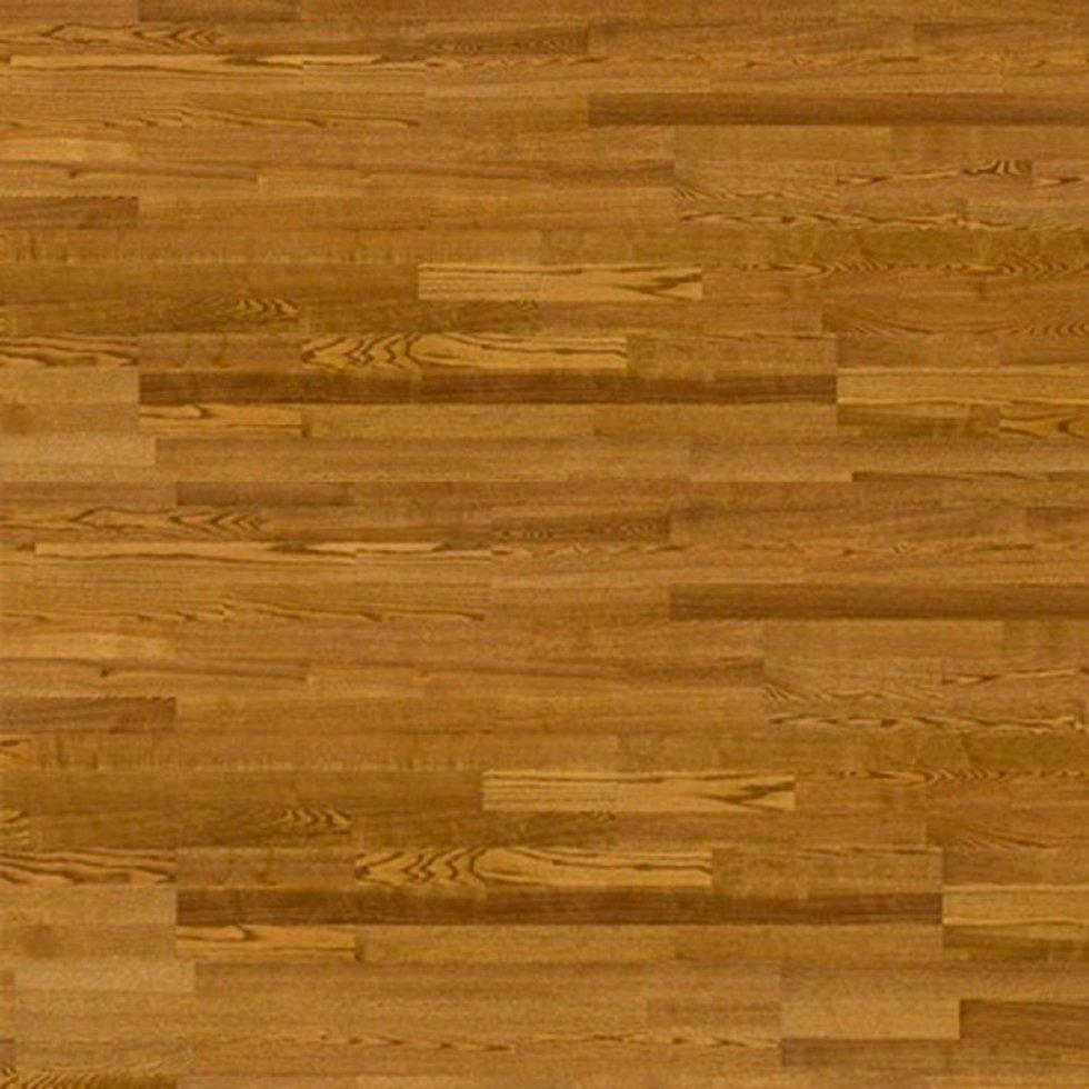 Паркетная доска Barlinek DECOR LINE Ясень Хайлендс (Highlands) 3WG000701трехполосная, лакированная без фаски