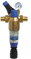 """Механический фильтр с редуктором давления (90 мкм) с ручной промывкой BWT F1 HWS 1"""""""