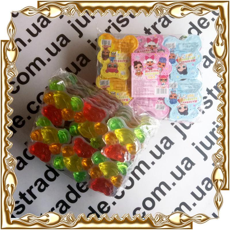 Желейна цукерка LOL (лол) 80 гр. 30 шт./уп.