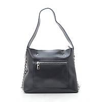 Женская сумка кожаная черная 185743, фото 1