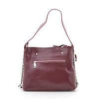 Женская сумка кожаная красная 185745