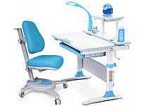 Комплект Evo-kids Evo-30 BL Blue  (стол+полка+кресло+лампа)