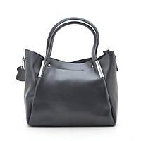 Женская сумка кожаная черная 188145, фото 1