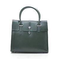 Женская сумка кожаная зеленая 188273, фото 1