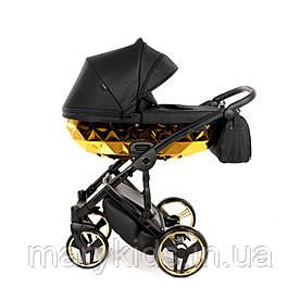 Детская универсальная коляска 2 в 1 Junama Mirror Blysk 02