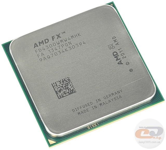 Процессор AMD FX-4300 tray