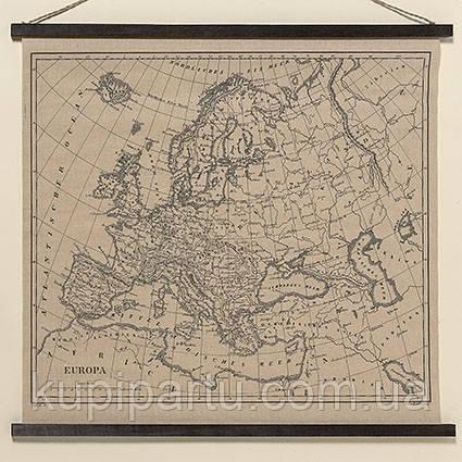 Настенный декор Европа натуральный джут l78см Гранд Презент 1005424