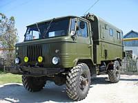 Лобовое стекло ГАЗ 66, триплекс