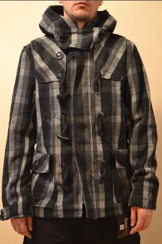 Мужское зимнее пальто с капюшоном Other