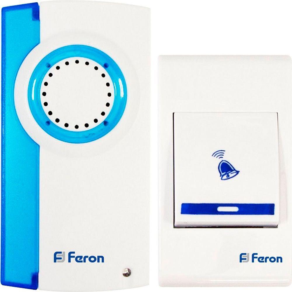 Беспроводной дверной звонок на батарейках Feron E-221